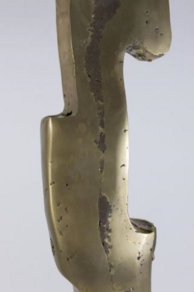 :David Marshall, Abstract Bronze Lucite Sculpture - 2