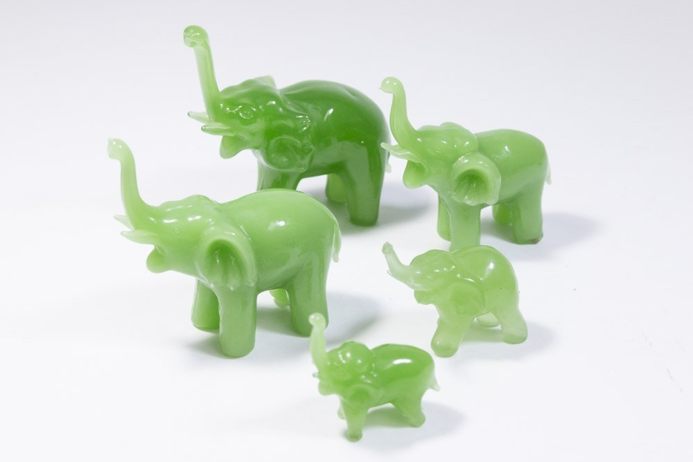 10 Chinese Carved Hardstone Animals - 2
