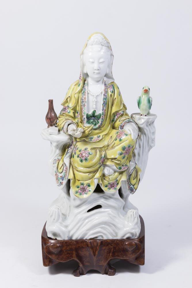 Chinese Porcelain Figure of Guan Yin