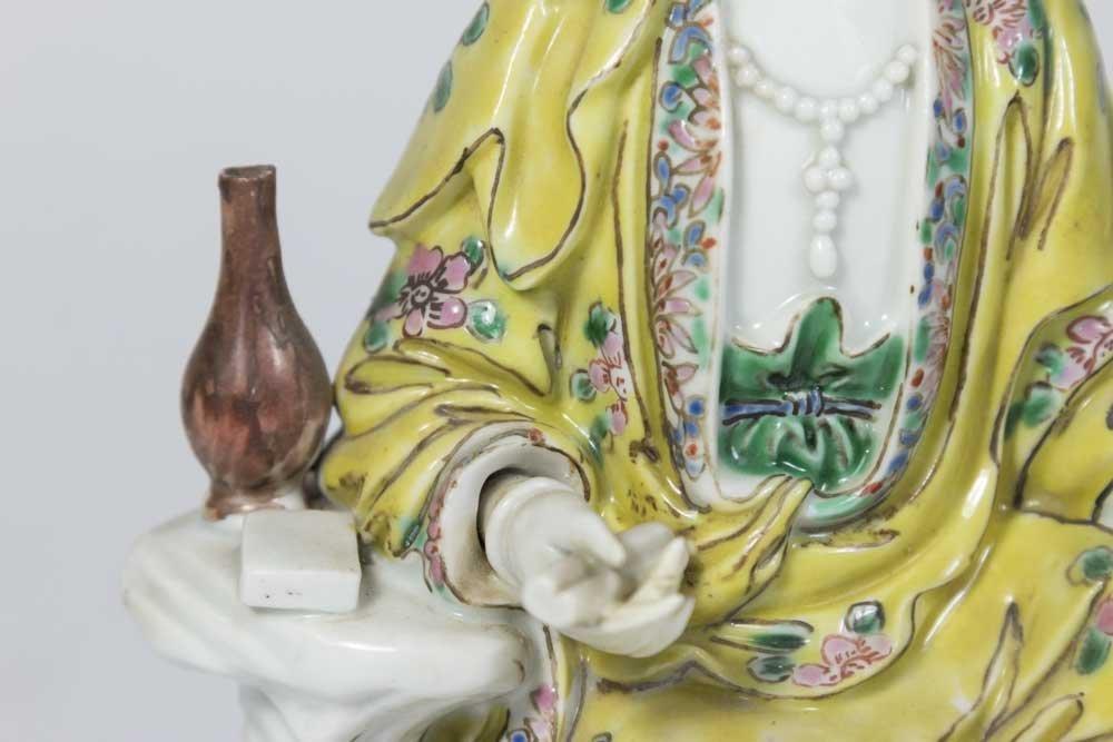 Chinese Porcelain Figure of Guan Yin - 2
