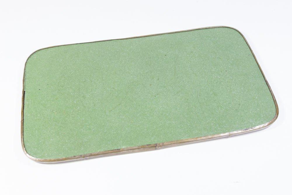 Enameled Japanese Tray - 6