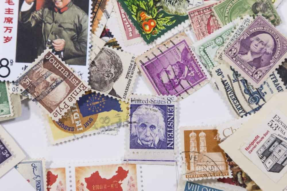 Lot of Stamps - 10