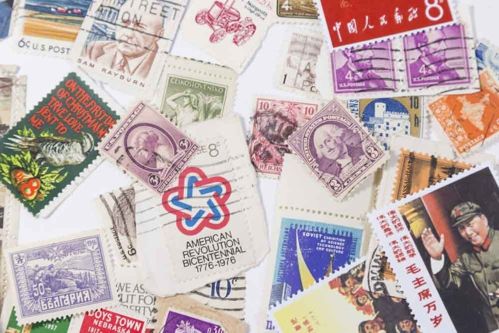 Lot of Stamps - 4