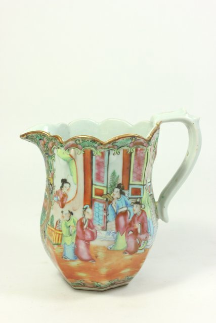 Rose Medallion Pitcher - 2