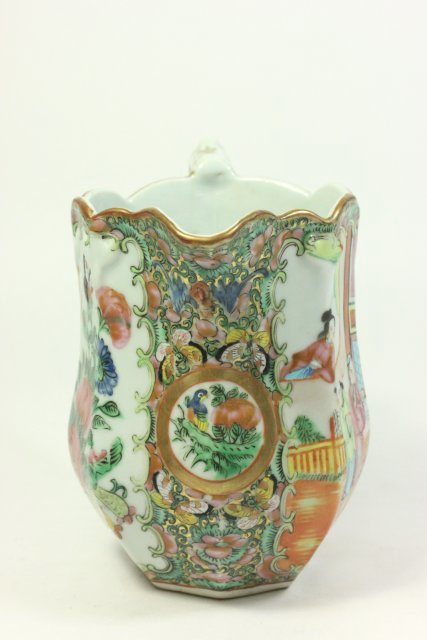 Rose Medallion Pitcher - 3