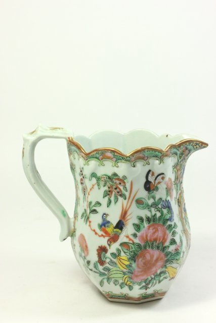 Rose Medallion Pitcher - 4