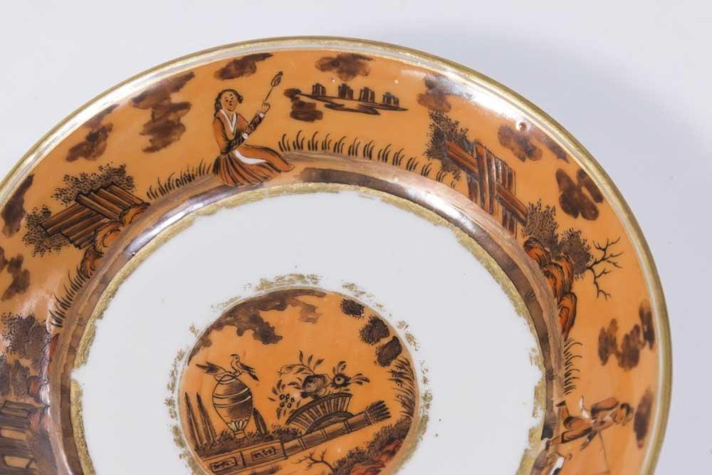 Chinese Export Gilt Iron Ground Porcelain Set - 4