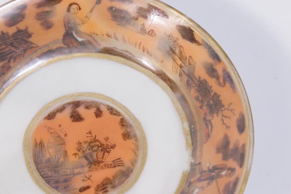 Chinese Export Gilt Iron Ground Porcelain Set - 5