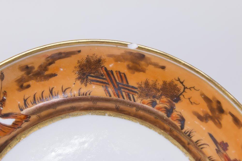 Chinese Export Gilt Iron Ground Porcelain Set - 6