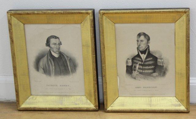 J.T. Bowen, Patrick Henry & General Harrison