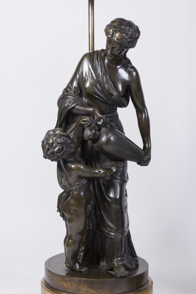 Pair 19th Century French Bronze Figures - 2
