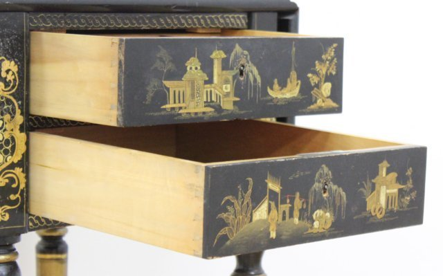 Victorian Chinoiserie Decorated Work Table - 5