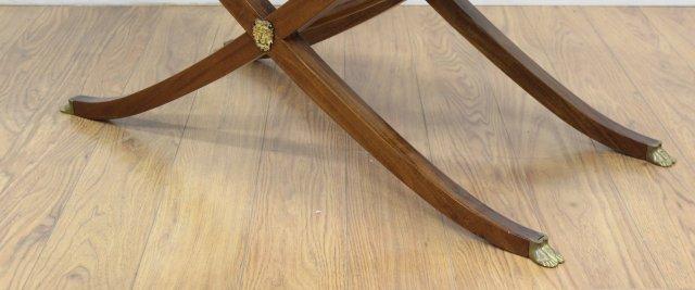 Regency Style Brass Mounted Mahogany Coffee Table - 3