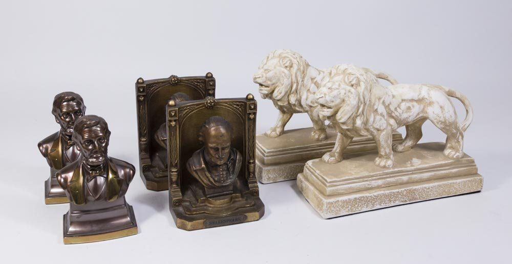 3 Pairs Bookends