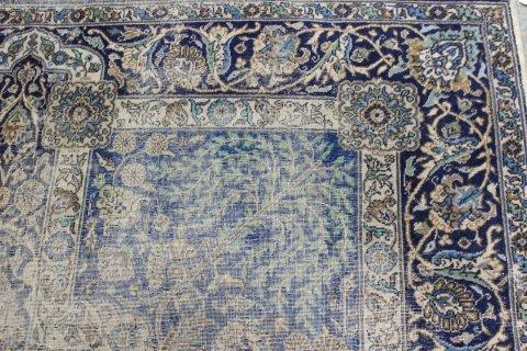 Antique Indo-Caucasian Wool Rug/Carpet - 5