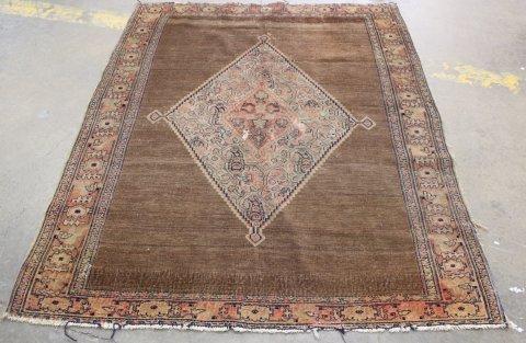 Antique Seneh Wool Rug/Carpet