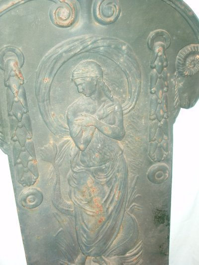 89: 19TH C. GREEK GODDESS ON SERPENT FONT. - 2