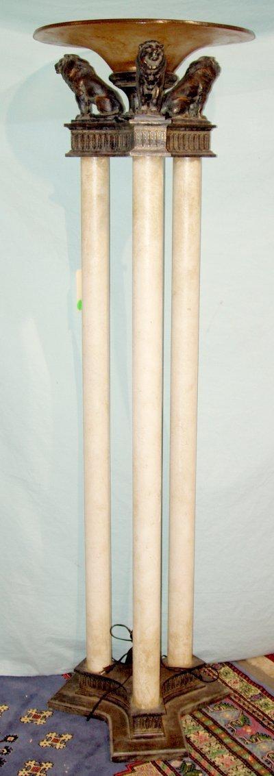 615: MODERNE FIGURAL LAMP