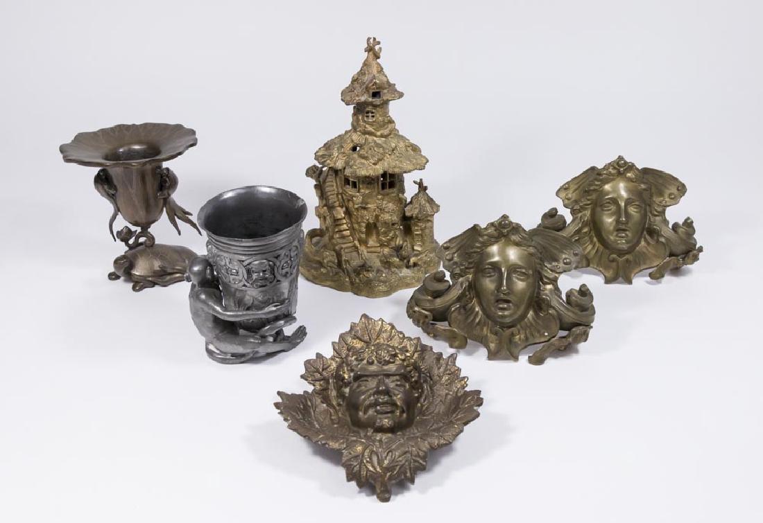 6 Metal Objects