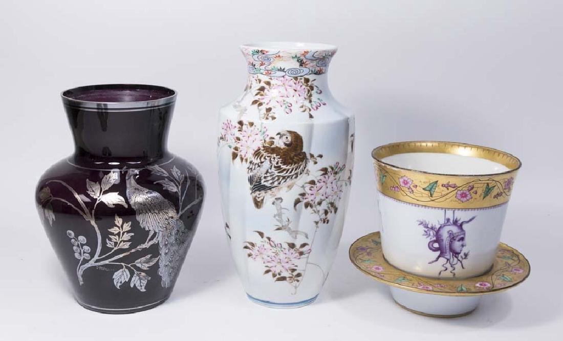 3 Porcelain or Glass Pieces