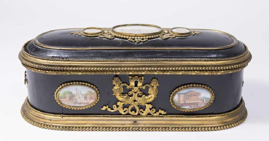 French Napoleon III Jewelry Box