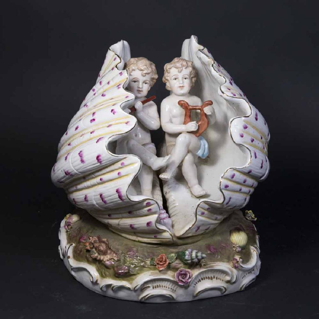 European Porcelain Figure