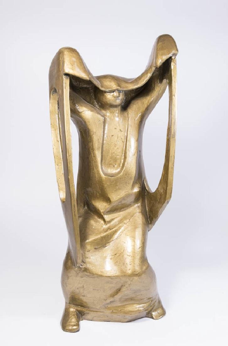 Abstract Sculpture of Woman