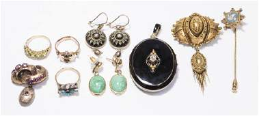 K  Victorian Gold Jewelry