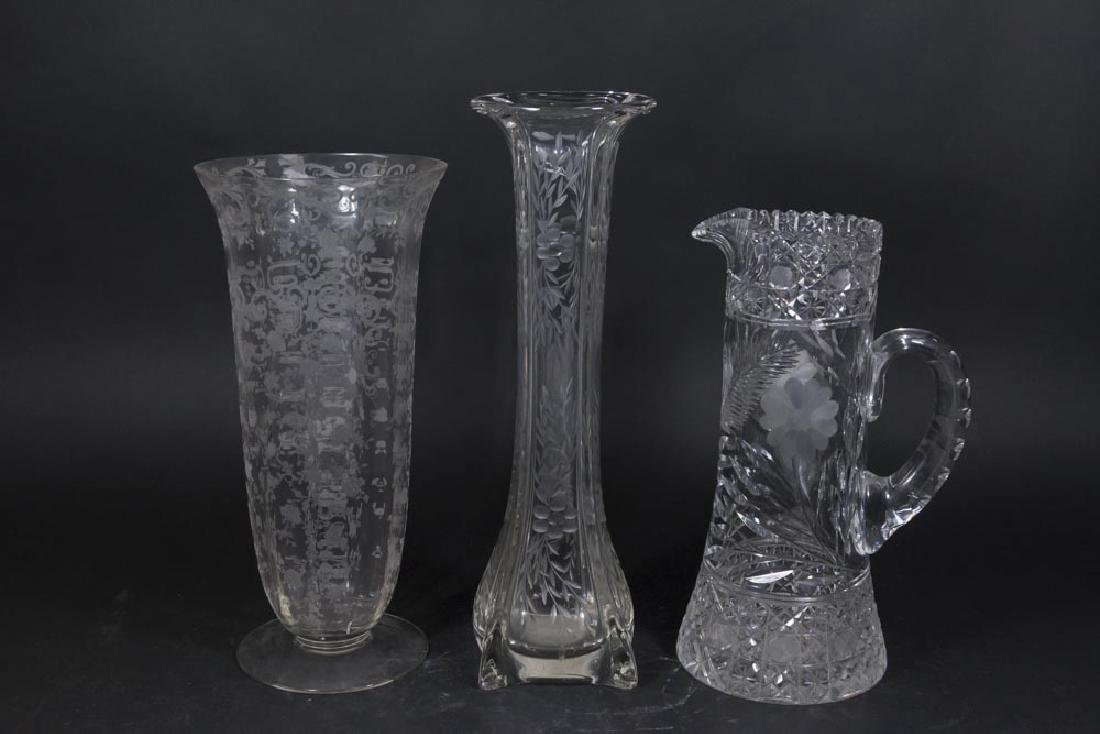 Lot 3 Glass Pieces