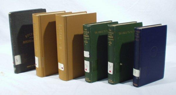 1502: 6 Vols. BIBLE EPISTLES Gospel Romans Denton