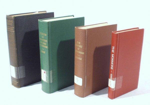 1506: 4 Vols. MORMONS BRIGHAM YOUNG Utah Beadle
