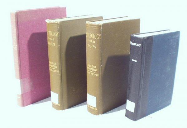 1510: 4 Vols. PHSYCHOLOGY James Wilshire