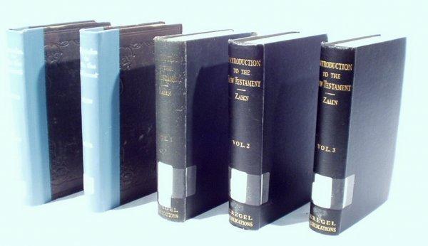 1514: 5 Vols. NEW TESTAMENT Bible Bleek Zahn
