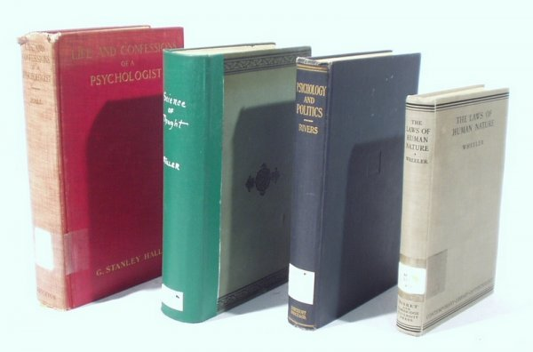 1522: 4 Vols. PSYCHOLOGY THEORY Rivers Muller Hall