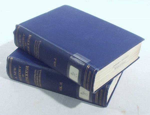 2503: 2V Complete Set NEW HISTORY METHODISM 1909