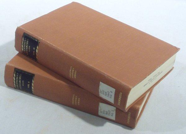 2520: 2V Set Ellis POLYNESIAN RESEARCHES 1829 (1967)