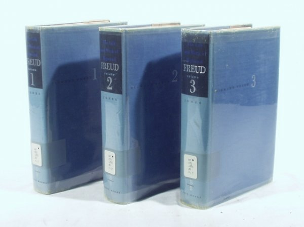 4023: 3V Set SIGMUND FREUD BIOGRAPHY Jones Weimar Conf.