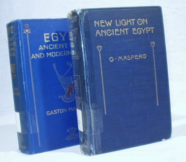 4514: 2V EGYPT BY MASPERO New Light Ancient Sites