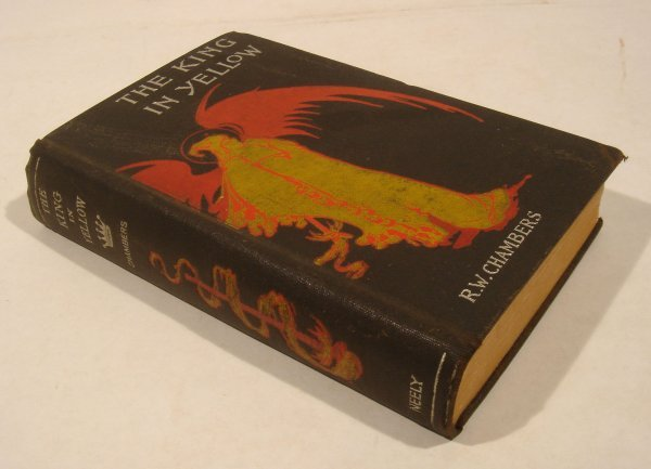 1099: Chambers KING IN YELLOW 1895 Neely Lovecraft - 2