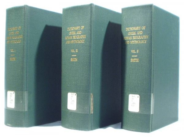 5004: 3V Set GREEK/ROMAN BIOGRAPHY&MYTHOLOGY 1880