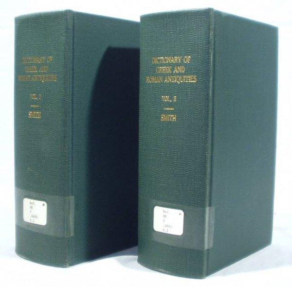 5008: 2V Set GREEK/ROMAN ANTIQUITIES Smith 1890
