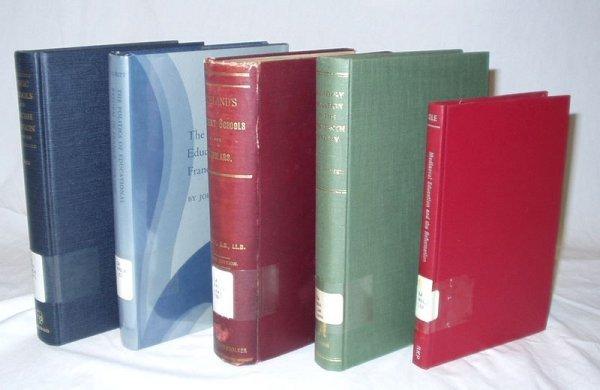 5521: 5V EDUCATION HISTORY Talbott Healy Mack Archer
