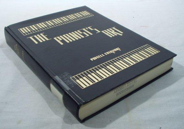 6060: Everhart PIANIST'S ART 1958 Inscribed to