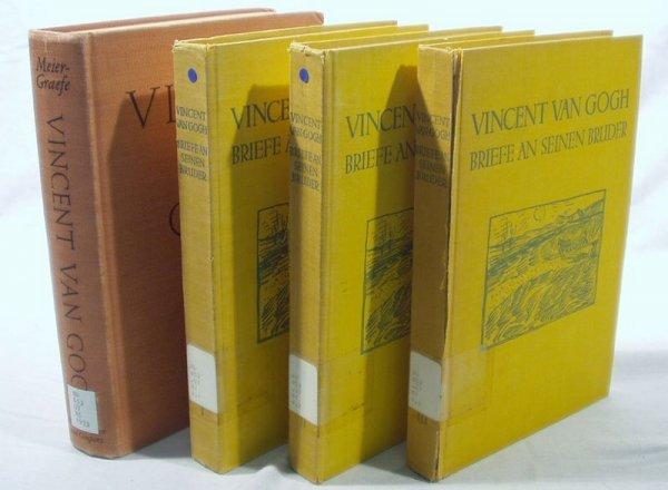 6512: 4V VAN GOGH BIOGRAPHY Meier-Graefe German Text