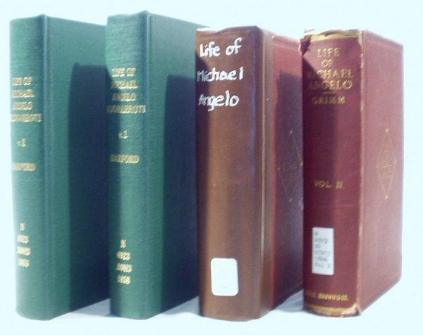 6514: 4V MICHAELANGELO Grimm Harford Art History