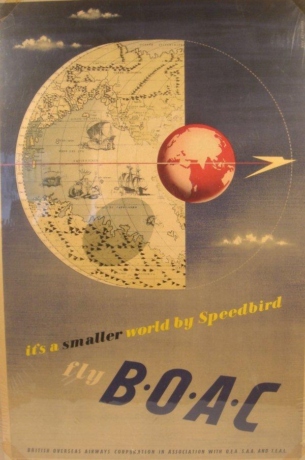3022: Pick SPEEDBIRD B.O.A.C. c1950 British Airways