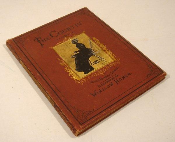 3001: 1874 Lowell THE COURTIN' Winslow Homer Osgood Rar