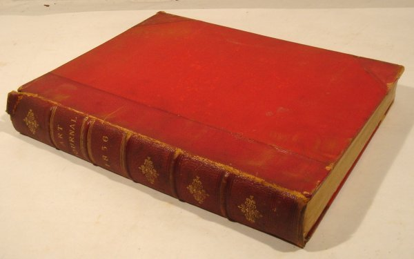 3029: 1856 ART JOURNAL Royal Callow Hensel Peele Jacobs