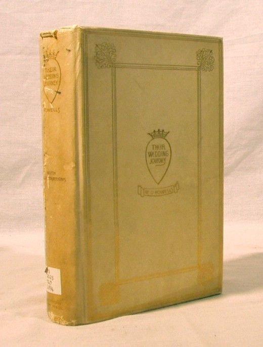 7006: Ltd.Ed.WEDDING JOURNEY Howells Vellum Bound 1894