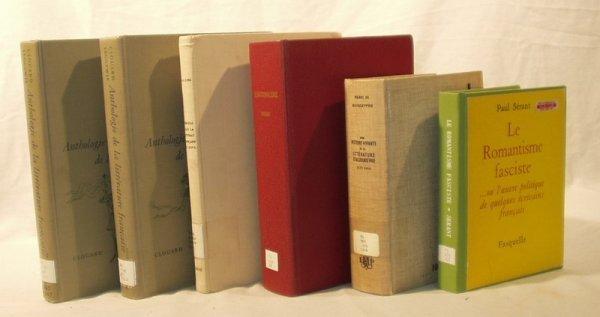 7011: 6V FRENCH LITERATURE French Text Serant Boisdeffr